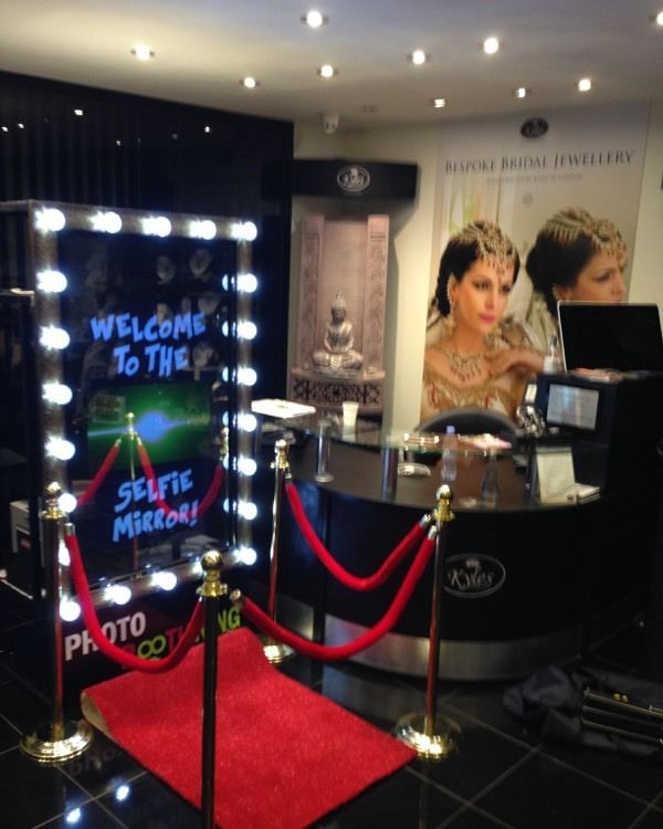 Rent The Magic Mirror Photo Booth